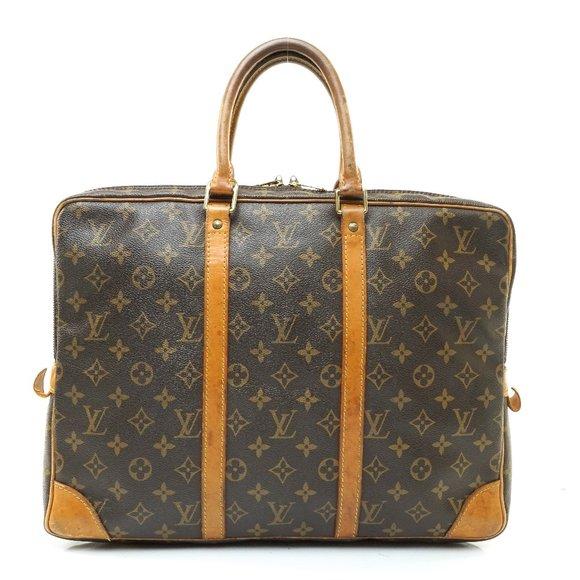 Auth Louis Vuitton Porte Documents #8064L30
